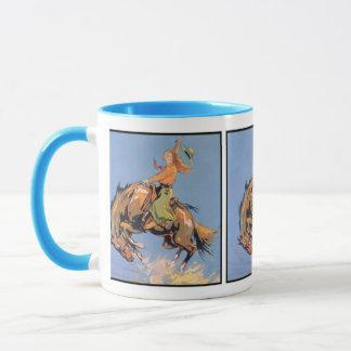 強く反対する青空 マグカップ