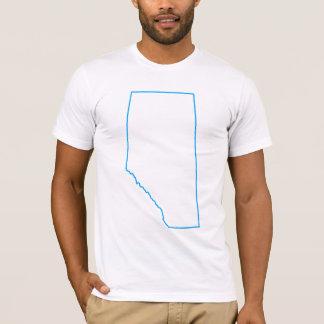 強く、自由なアルバータ Tシャツ