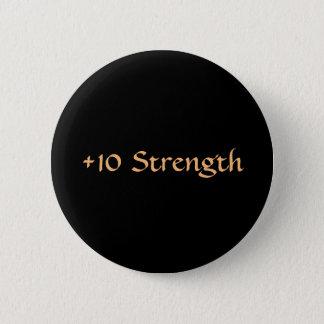 強さのボタン 5.7CM 丸型バッジ