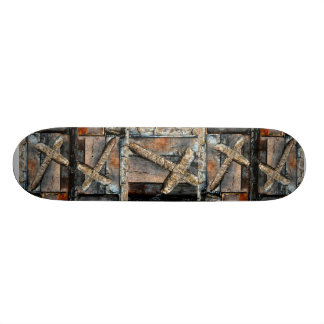 強さの十字 スケートボードデッキ