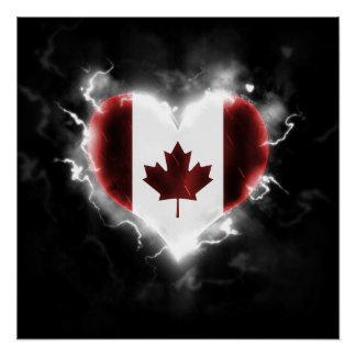 強力なカナダ ポスター