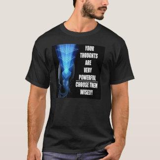 強力な思考 Tシャツ