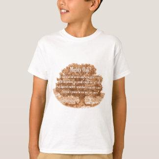 強大なカシか。 Tシャツ