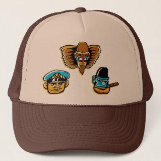 強大な猿人のトラック運転手の帽子 キャップ