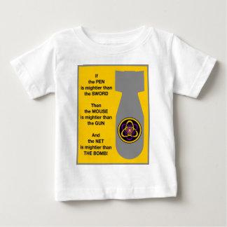 強大な網2 ベビーTシャツ