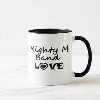 強大なMバンド愛マグ マグカップ