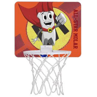 強大なMolarMan® Allstarのバスケットボールたが ミニバスケットボールゴール
