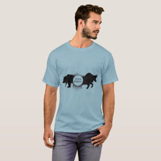 強弱の株式市場のTシャツ Tシャツ