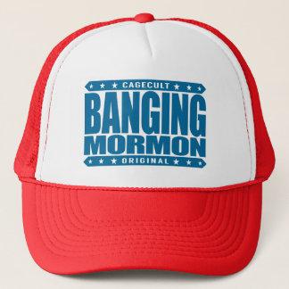 強打のモルモン教徒-近代の聖者教会喧嘩屋 キャップ