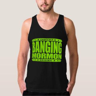 強打のモルモン教徒-近代の聖者教会喧嘩屋 タンクトップ