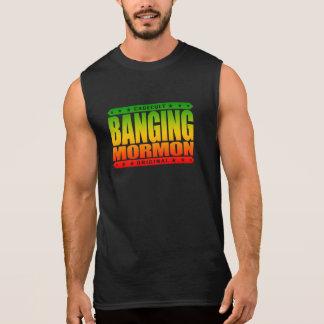 強打のモルモン教徒-近代の聖者教会喧嘩屋 袖なしシャツ