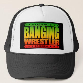 強打のレスリング選手-私は野蛮なフリースタイルGrapplerです キャップ