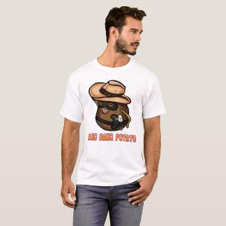 強打の強打のポテトの人のTシャツ(多数色) Tシャツ