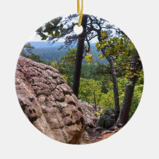 強盗の洞窟の州立公園 セラミックオーナメント