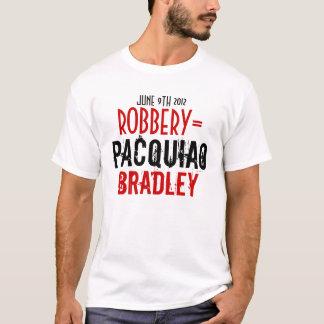 強盗の=PACQUIAO対ブラッドリー Tシャツ