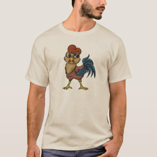 弾力性のあるオンドリ! Tシャツ