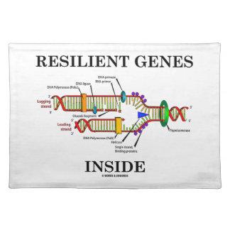 弾力性のある遺伝子の内部(DNAの写し) ランチョンマット