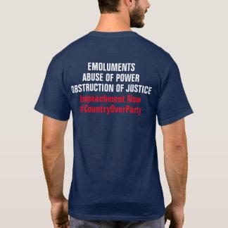 弾劾報酬の妨害の権利の乱用 Tシャツ