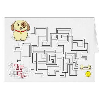 当惑のゲームの犬および球 カード