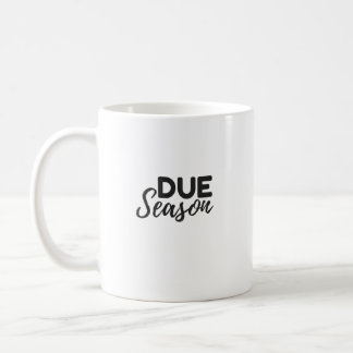 当然の季節 コーヒーマグカップ