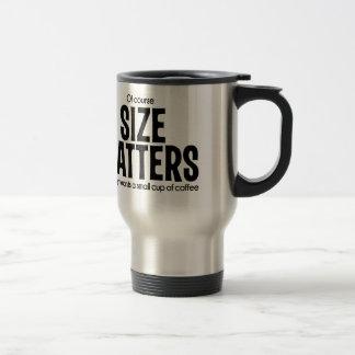 当然サイズはおもしろいなコーヒー・マグ2 LOLの重要です トラベルマグ