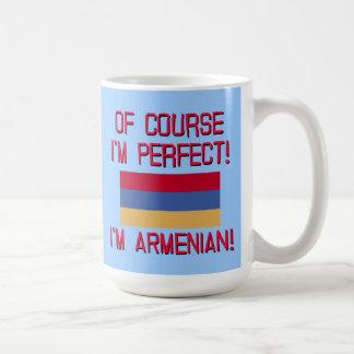 当然私は完全、私ですアルメニア語です! コーヒーマグカップ