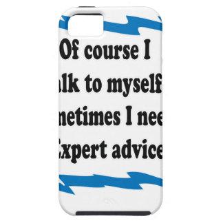 当然私は自分自身に話します iPhone SE/5/5s ケース