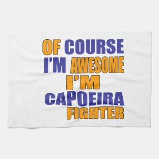 当然私はCapoeiraの戦闘機です キッチンタオル