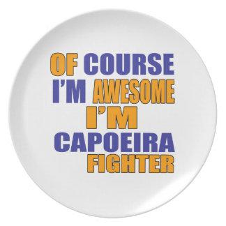 当然私はCapoeiraの戦闘機です プレート