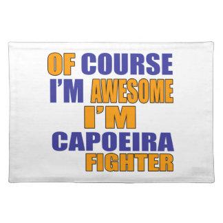 当然私はCapoeiraの戦闘機です ランチョンマット