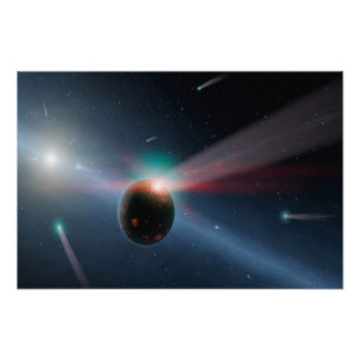 彗星の嵐 ポスター