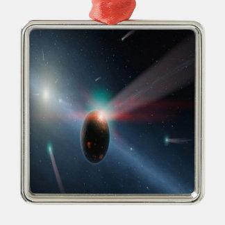 彗星の嵐 メタルオーナメント