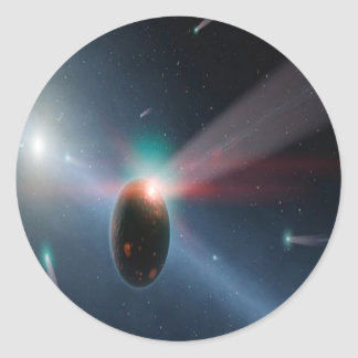 彗星の嵐 ラウンドシール