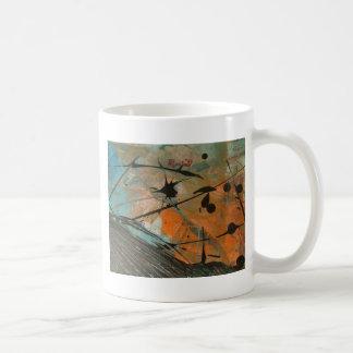 彗星のastractのデザイン コーヒーマグカップ