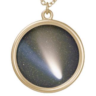彗星丈夫なBopp ゴールドプレートネックレス