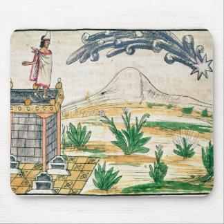 彗星1579年を見るMontezuma II マウスパッド