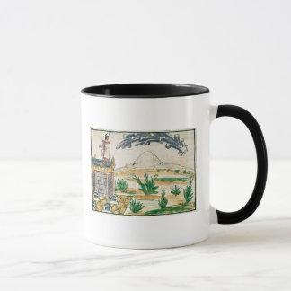 彗星1579年を見るMontezuma II マグカップ