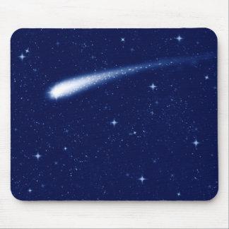 彗星#2 -マウスマットの横の濃紺 マウスパッド