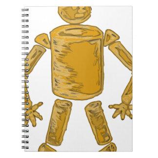 形の人 ノートブック