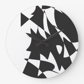 形 ラージ壁時計