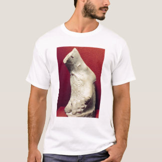 彫像からの足 Tシャツ
