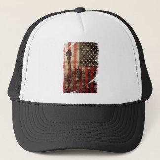 彫像の自由米国 キャップ