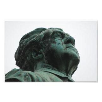 彫像用Père Lachaiseの墓地 フォトプリント