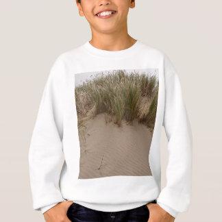 彫刻が施された砂及び海の草 スウェットシャツ