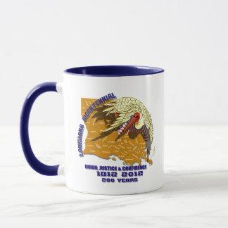 影が付いているルイジアナのマグ マグカップ
