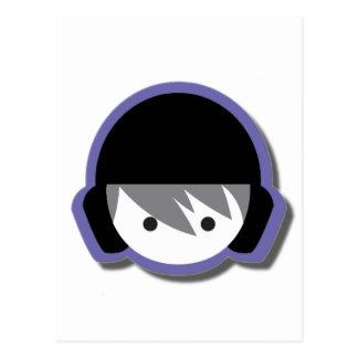 影との水球の店のロゴ ポストカード
