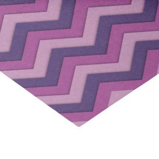 影のシェブロンの紫色のティッシュペーパー 薄葉紙