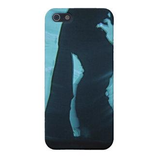 影のダンサーの皮 iPhone 5 CASE