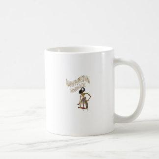 影のパペットBimaのインドネシア人文化 コーヒーマグカップ