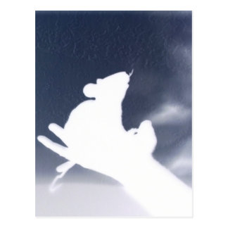 影のラット ポストカード